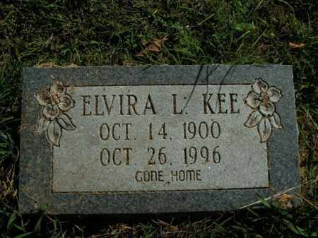 KEE, ELVIRA L. - Boone County, Arkansas | ELVIRA L. KEE - Arkansas Gravestone Photos