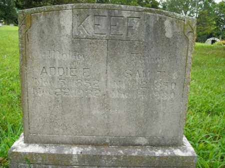 KEEF, ADDIE E.. - Boone County, Arkansas | ADDIE E.. KEEF - Arkansas Gravestone Photos