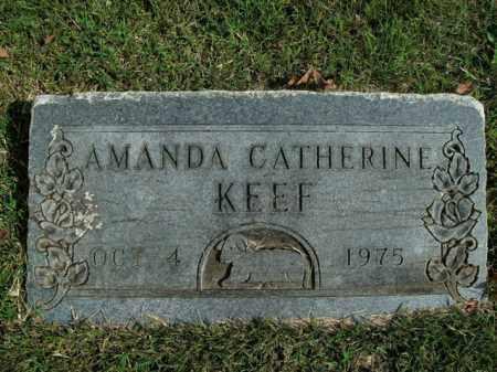 KEEF, AMANDA CATHERINE - Boone County, Arkansas | AMANDA CATHERINE KEEF - Arkansas Gravestone Photos