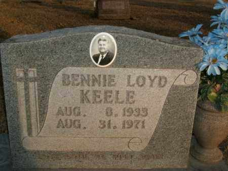 KEELE, BENNIE LOYD - Boone County, Arkansas | BENNIE LOYD KEELE - Arkansas Gravestone Photos