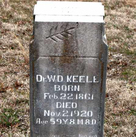 KEELE, W. D. - Boone County, Arkansas | W. D. KEELE - Arkansas Gravestone Photos