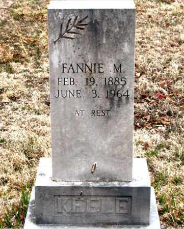 KEELE, FANNIE  M. - Boone County, Arkansas | FANNIE  M. KEELE - Arkansas Gravestone Photos