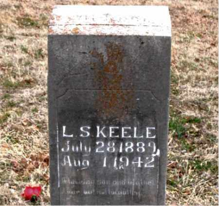 KEELE, L. S. - Boone County, Arkansas | L. S. KEELE - Arkansas Gravestone Photos