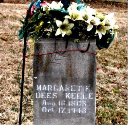 DEES KEELE, MARGARET E. - Boone County, Arkansas | MARGARET E. DEES KEELE - Arkansas Gravestone Photos