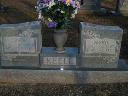 KEELE, OMA A. - Boone County, Arkansas | OMA A. KEELE - Arkansas Gravestone Photos