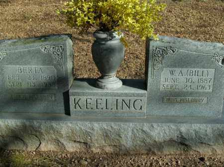 "KEELING, W.A. ""BILL"" - Boone County, Arkansas 