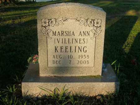 KEELING, MARSHA ANN - Boone County, Arkansas | MARSHA ANN KEELING - Arkansas Gravestone Photos