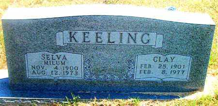 KEELING, CLAY - Boone County, Arkansas | CLAY KEELING - Arkansas Gravestone Photos