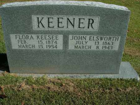 KEENER, JOHN ELSWORTH - Boone County, Arkansas | JOHN ELSWORTH KEENER - Arkansas Gravestone Photos