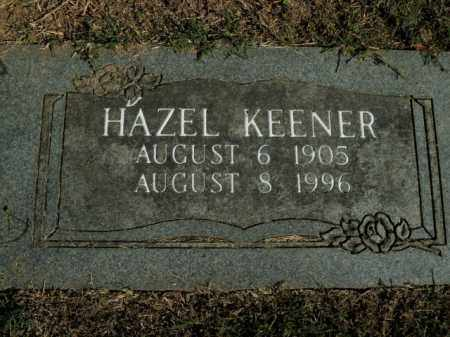 KEENER, HAZEL - Boone County, Arkansas | HAZEL KEENER - Arkansas Gravestone Photos