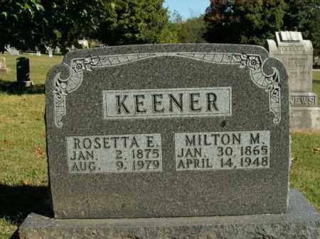 KEENER, ROSETTA E. - Boone County, Arkansas | ROSETTA E. KEENER - Arkansas Gravestone Photos