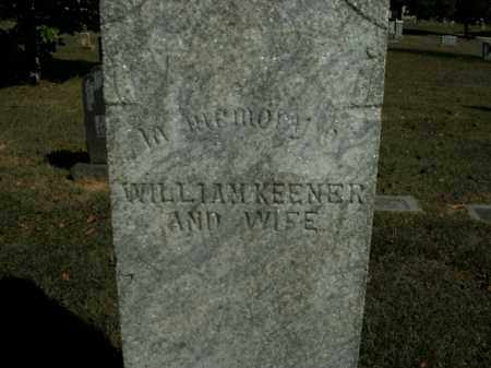 KEENER, WILLIAM - Boone County, Arkansas | WILLIAM KEENER - Arkansas Gravestone Photos