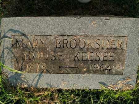 BROOKSHER KEESEE, MARY - Boone County, Arkansas | MARY BROOKSHER KEESEE - Arkansas Gravestone Photos