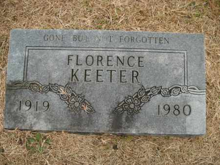 SUMMERS KEETER, FLORENCE R. - Boone County, Arkansas | FLORENCE R. SUMMERS KEETER - Arkansas Gravestone Photos
