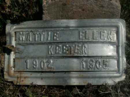 KEETER, MATTIE ELLEN - Boone County, Arkansas | MATTIE ELLEN KEETER - Arkansas Gravestone Photos