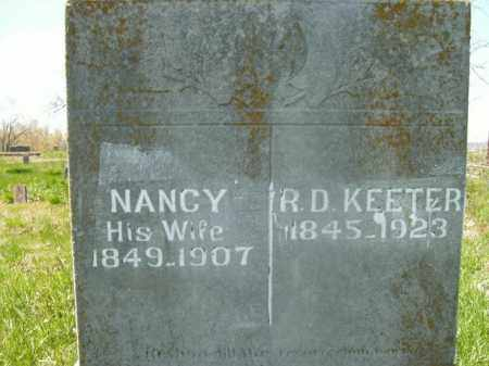 KEETER, NANCY SUSAN - Boone County, Arkansas | NANCY SUSAN KEETER - Arkansas Gravestone Photos