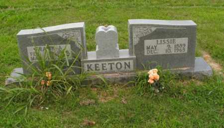 KEETON, LISSIE - Boone County, Arkansas | LISSIE KEETON - Arkansas Gravestone Photos