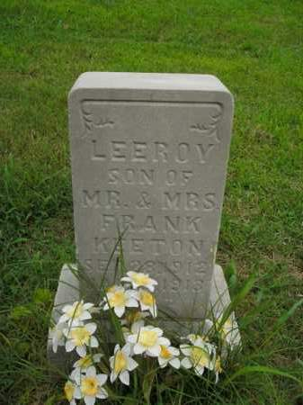 KEETON, LEEROY - Boone County, Arkansas | LEEROY KEETON - Arkansas Gravestone Photos