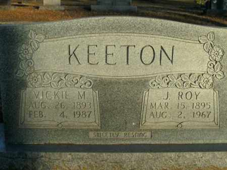 KEETON, J. ROY - Boone County, Arkansas | J. ROY KEETON - Arkansas Gravestone Photos