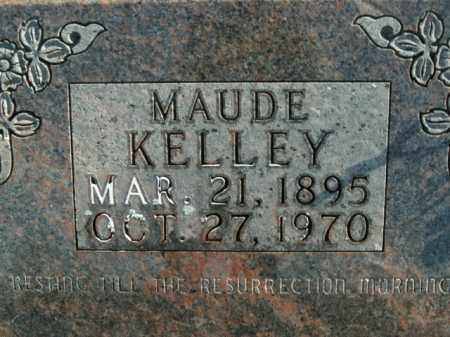 KELLEY, MAUDE - Boone County, Arkansas | MAUDE KELLEY - Arkansas Gravestone Photos