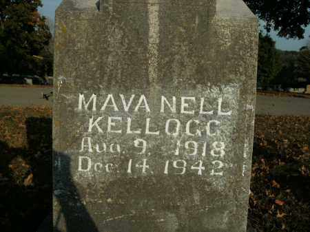 KELLOGG, MAVA NELL - Boone County, Arkansas | MAVA NELL KELLOGG - Arkansas Gravestone Photos