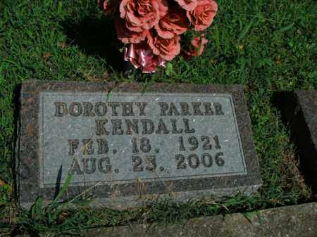 PARKER KENDALL, DOROTHY - Boone County, Arkansas | DOROTHY PARKER KENDALL - Arkansas Gravestone Photos