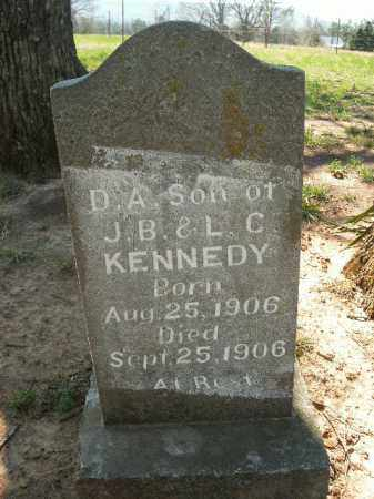 KENNEDY, D.A. - Boone County, Arkansas | D.A. KENNEDY - Arkansas Gravestone Photos