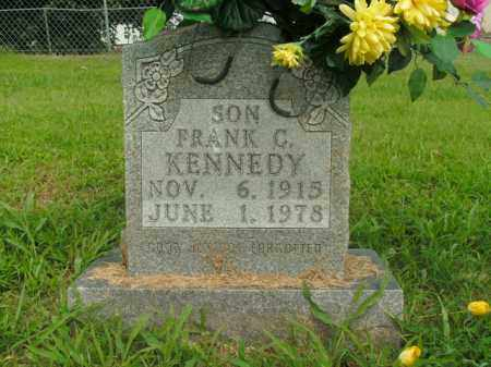 KENNEDY, FRANK C. - Boone County, Arkansas | FRANK C. KENNEDY - Arkansas Gravestone Photos