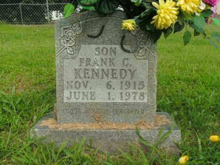 KENNEDY, FRANK C. - Boone County, Arkansas | FRANK C. KENNEDY - Arkansas Gravestone Photos