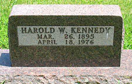KENNEDY, HAROLD W. - Boone County, Arkansas | HAROLD W. KENNEDY - Arkansas Gravestone Photos