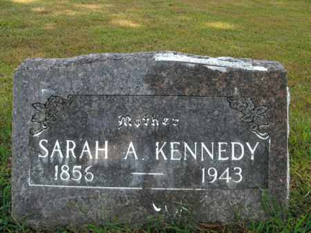 KENNEDY, SARAH A. - Boone County, Arkansas | SARAH A. KENNEDY - Arkansas Gravestone Photos