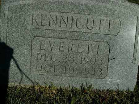 KENNICUTT, EVERETT - Boone County, Arkansas | EVERETT KENNICUTT - Arkansas Gravestone Photos