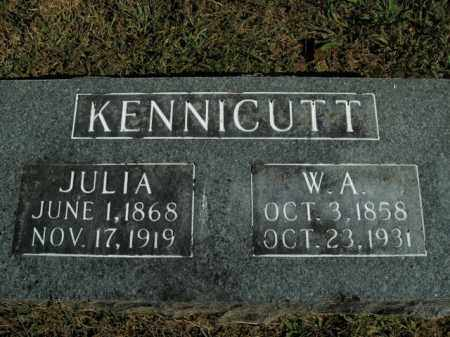 COFFMAN KENNICUTT, JULIA - Boone County, Arkansas | JULIA COFFMAN KENNICUTT - Arkansas Gravestone Photos