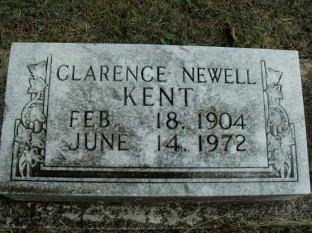 KENT, CLARENCE NEWELL - Boone County, Arkansas | CLARENCE NEWELL KENT - Arkansas Gravestone Photos