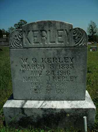 KERLEY, W. G. - Boone County, Arkansas | W. G. KERLEY - Arkansas Gravestone Photos