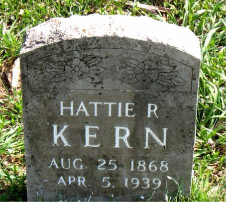 KERN, HATTIE  R. - Boone County, Arkansas | HATTIE  R. KERN - Arkansas Gravestone Photos