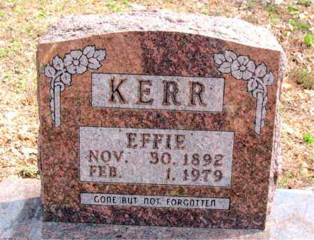 KERR, EFFIE - Boone County, Arkansas | EFFIE KERR - Arkansas Gravestone Photos