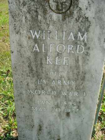 KEE  (VETERAN WWI), WILLIAM ALFORD - Boone County, Arkansas | WILLIAM ALFORD KEE  (VETERAN WWI) - Arkansas Gravestone Photos