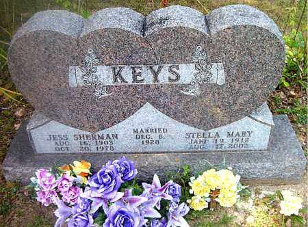 KEYS, JESS SHERMAN - Boone County, Arkansas | JESS SHERMAN KEYS - Arkansas Gravestone Photos