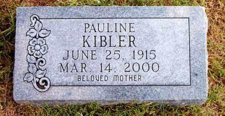 KIBLER, PAULINE - Boone County, Arkansas | PAULINE KIBLER - Arkansas Gravestone Photos
