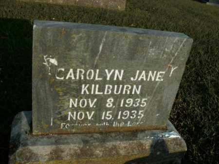 KILBURN, CAROLYN JANE - Boone County, Arkansas | CAROLYN JANE KILBURN - Arkansas Gravestone Photos