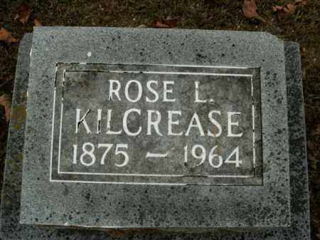 KILCREASE, ROSE L. - Boone County, Arkansas | ROSE L. KILCREASE - Arkansas Gravestone Photos