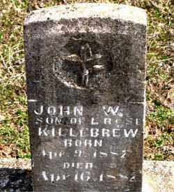 KILLEBREW, JOHN  W. - Boone County, Arkansas | JOHN  W. KILLEBREW - Arkansas Gravestone Photos