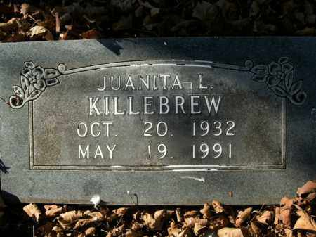 KILLEBREW, JUANITA L. - Boone County, Arkansas | JUANITA L. KILLEBREW - Arkansas Gravestone Photos