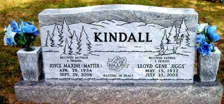 KINDALL, JOYCE MAXINE - Boone County, Arkansas | JOYCE MAXINE KINDALL - Arkansas Gravestone Photos