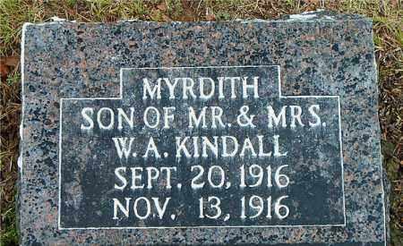 KINDALL, MYRDITH - Boone County, Arkansas | MYRDITH KINDALL - Arkansas Gravestone Photos