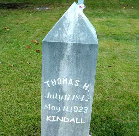 KINDALL, THOMAS HARRISON - Boone County, Arkansas | THOMAS HARRISON KINDALL - Arkansas Gravestone Photos