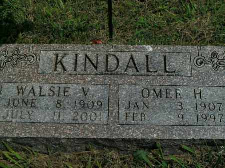 KINDALL, WALSIE V. - Boone County, Arkansas | WALSIE V. KINDALL - Arkansas Gravestone Photos