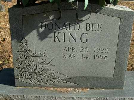 KING, DONALD BEE - Boone County, Arkansas | DONALD BEE KING - Arkansas Gravestone Photos