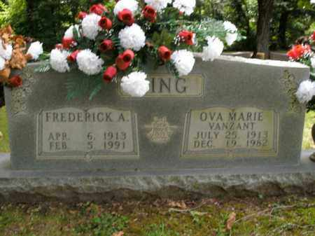 KING, OVA MARIE - Boone County, Arkansas | OVA MARIE KING - Arkansas Gravestone Photos